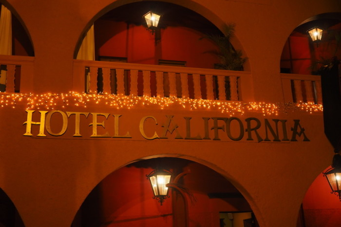 Baja California - The famous Hotel California, Todos Santos