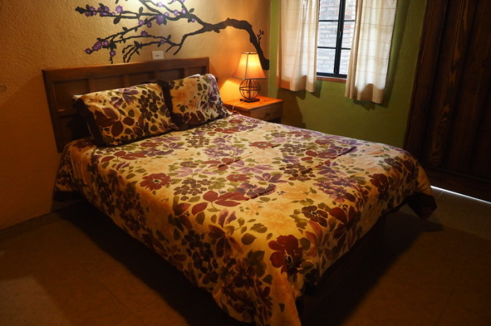 Baja California - Our beautiful room at the Posada Inn, Guadalupe Valley