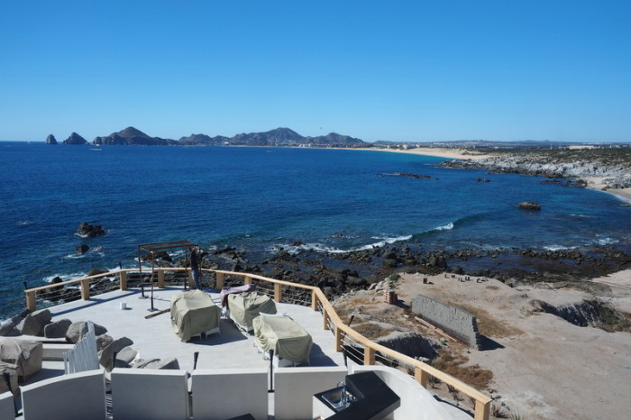 Baja California - Views of Cabo San Lucas from the Mona Lisa Restaurant