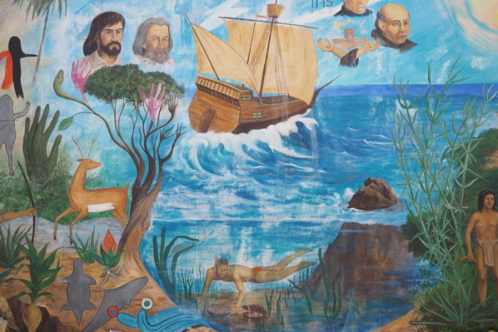 Baja California - Beautiful murals, Todos Santos