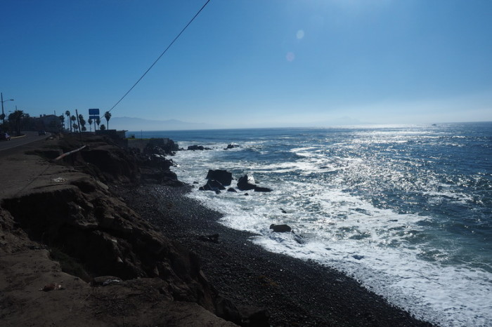 Baja California - Coming into Ensenada, we enjoyed beautiful coastal views