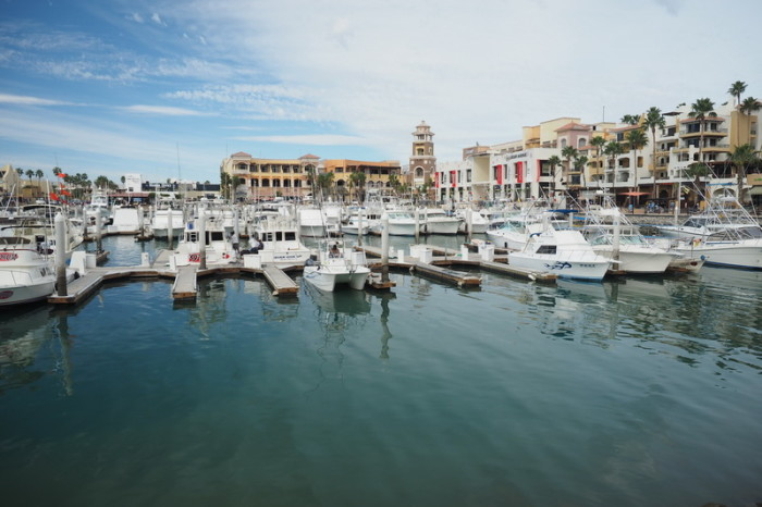 Baja California - The harbour, Cabo San Lucas