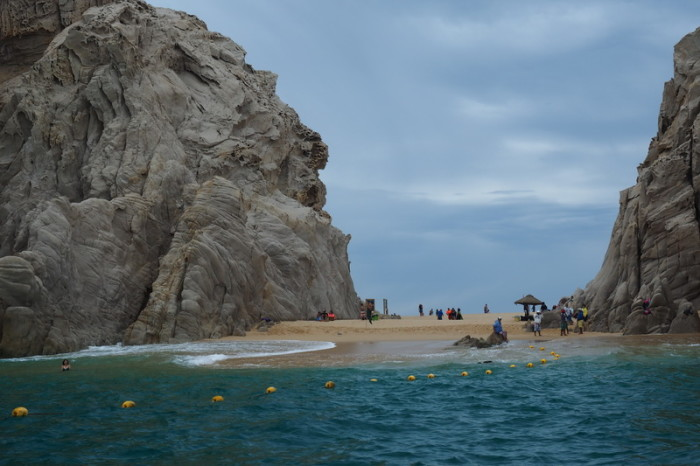 Baja California - Lovers Beach near Cabo San Lucas accessible only by boat (right next door is Divorce Beach!)