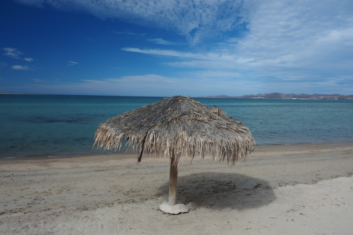 Baja California - The beach at La Paz