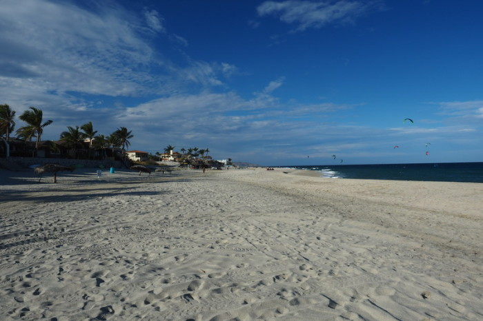 Baja California - The beach at Los Barriles