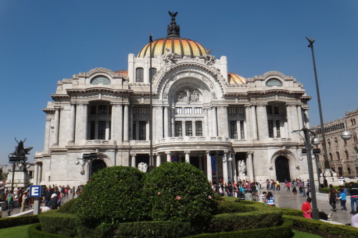 Mexico City 16 - The stunning Palacio de Bellas Artes