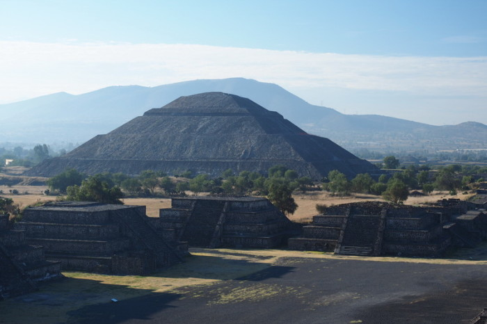 Mexico City - The Pyramid of the Sun, Teotihuacán