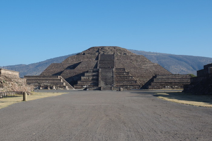 Mexico City - The Pyramid of the Moon, Teotihuacán
