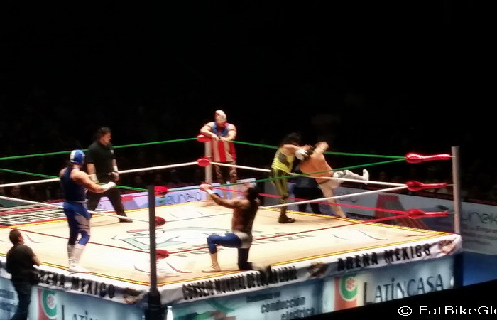 Mexico City 3 - Cheering on the masked wrestlers at the Lucha Libre!