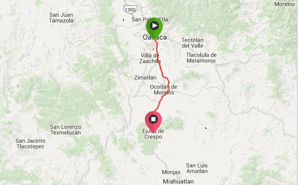 Oaxaca to Ejutla