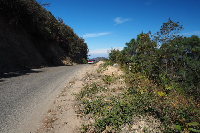 Oaxaca to PA - The big climb to San Jose del Pacifico