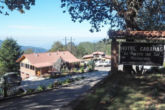 Oaxaca to PA - Hotel Cabañas, San Jose del Pacifico
