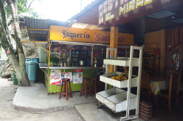 Oaxaca to PA - The little taqueria where we stopped for lunch!