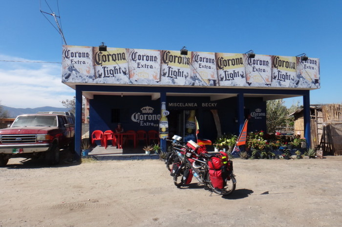 Oaxaca to PA 8 - Our first coke stop on the way to San Jose del Pacifico