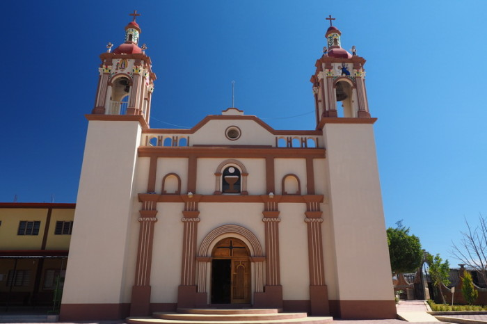 Oaxaca to PA - The Church at El Tunillo on our way to San Jose del Pacifico