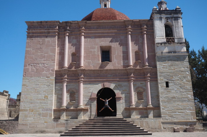 Day trip to the Valle de Tlacolula  - Church of San Pablo, Mitla