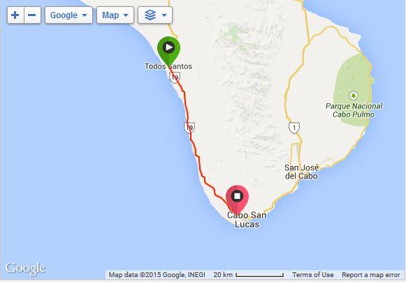 Todos Santos to Cabo San Lucas