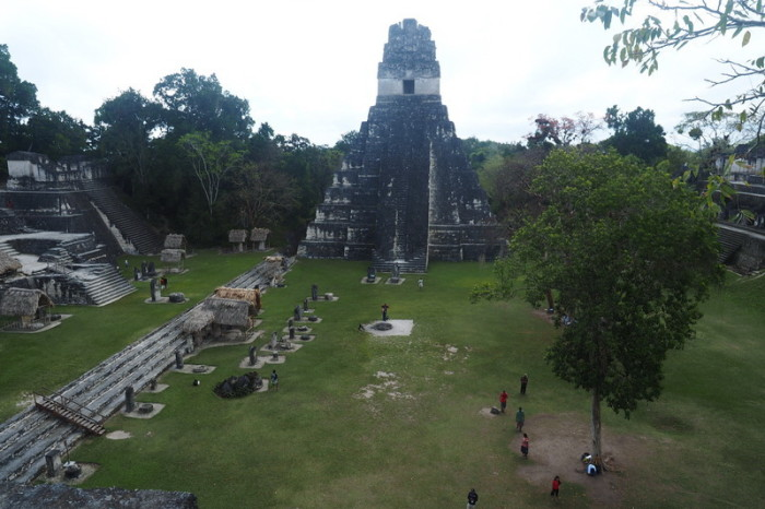 Guatemala - Tikal Temple 1, Tikal, Guatemala