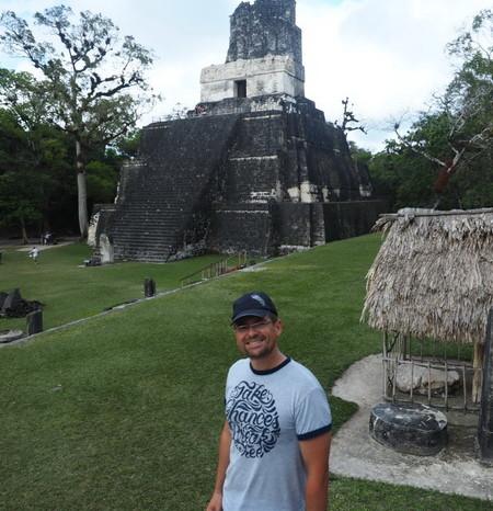 Guatemala - Tikal Temple II, Tikal, Guatemala