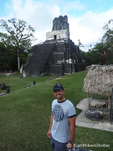 Tikal Temple II, Tikal, Guatemala