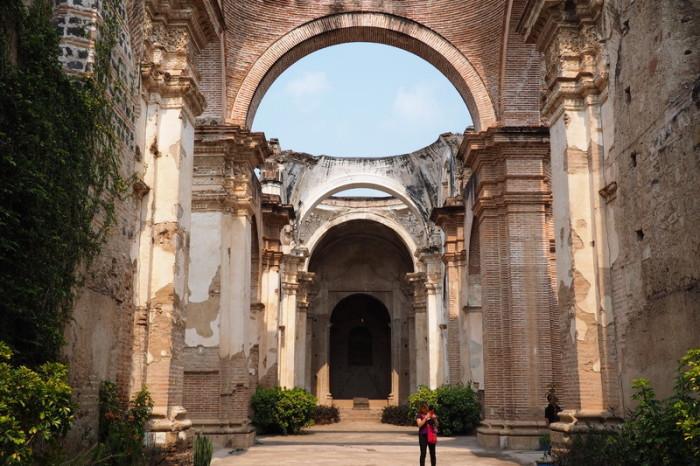 Guatemala - San José Catedral, Antigua, Guatemala