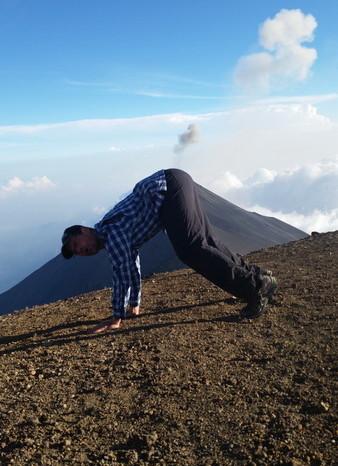 Guatemala - David ... erupting!