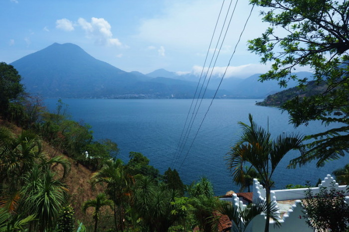 Guatemala - Views from Hotel Jinava, San Marco, Lake Atitlan, Guatemala