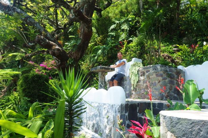 Guatemala - David at Hotel Jinava, San Marco, Lake Atitlan, Guatemala