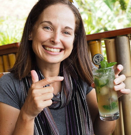 Guatemala - Apparently Hotel  Jinava makes the best Mojito on Lake Atitlan ... so we had to try it!