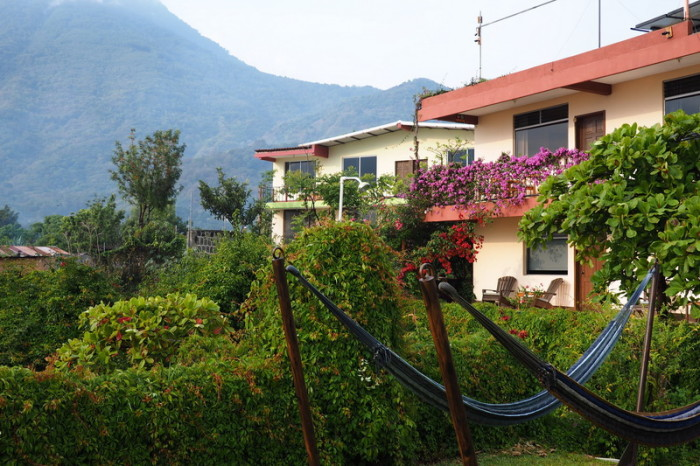 Guatemala - Our Hotel in San Pedro, Lake Atitlan, Guatemala