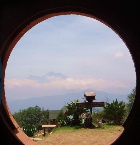 Guatemala - Hobbitenango, near Antigua, Guatemala