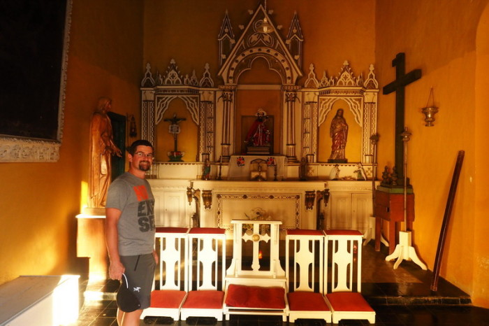 Mexican Road Trip - The Family Chapel, Hacienda Yaxcopoil, Yucatan, Mexico