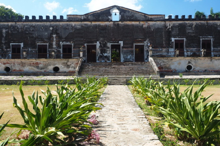 Mexican Road Trip - The Main House, Hacienda Yaxcopoil, Yucatan, Mexico