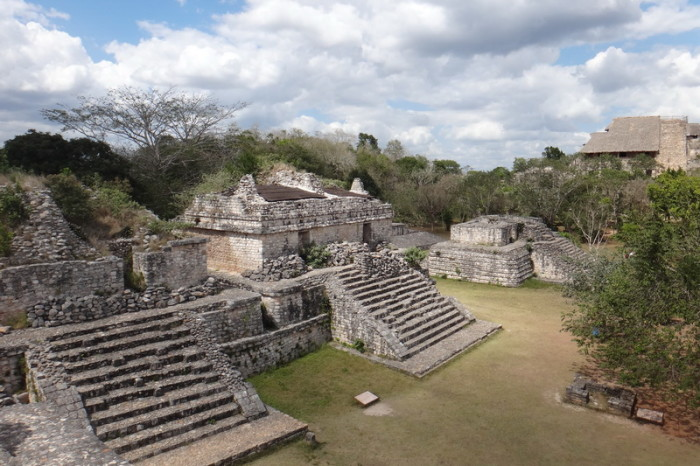 Mexican Road Trip - The view from the Oval Palace, Ek' Balam, Yucatan, Mexico