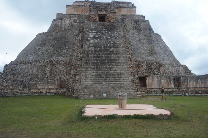 Mexican Road Trip - The impressive Adivino (the Pyramid of the Magician or the Pyramid of the Dwarf), Uxmal, Yucatan, Mexico