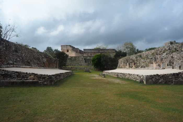 Mexican Road Trip - The ball court, Uxmal, Yucatan, Mexico