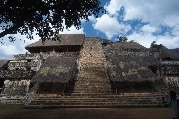 Mexican Road Trip - The stunning Acropolis at Ek' Balam, Yucatan, Mexico