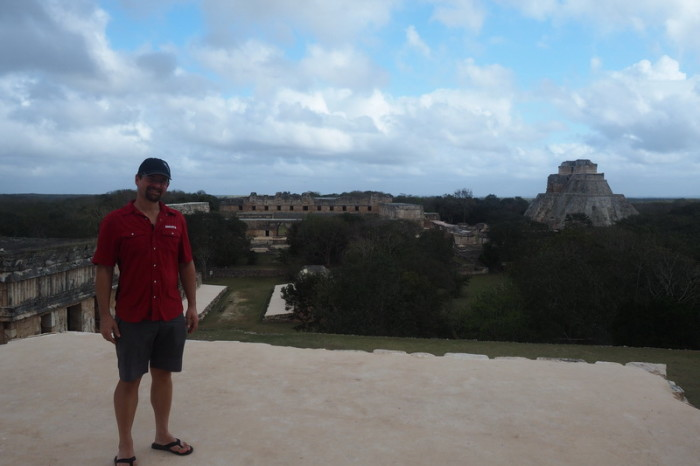 Mexican Road Trip - Views from the Governor's Palace,  Uxmal, Yucatan, Mexico