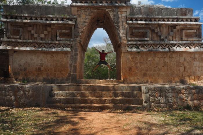 Mexican Road Trip - The Entrance Arch, Labna, Yucatan, Mexico