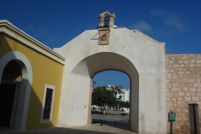 Mexican Road Trip - Old city walls, Campeche, Campeche, Mexico