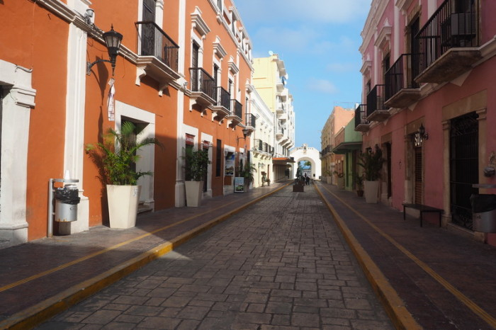 Mexican Road Trip - The colourful streets of Campeche! Campeche, Mexico