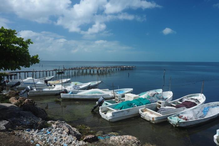 Mexican Road Trip - Beautiful coastal views on the Campeche Coast, Mexico