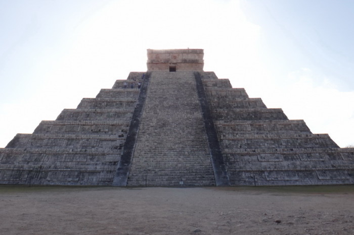 "Mexican Road Trip - The impressive stepped pyramid ""El Castillo"", Chichen Itza, Yucatan, Mexico"