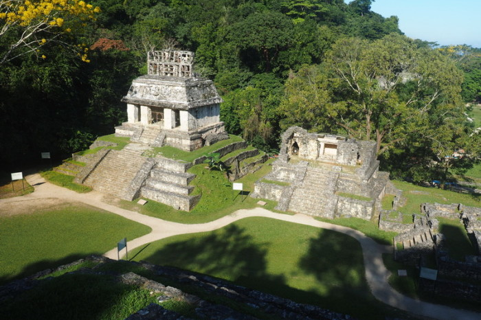 Mexican Road Trip - Temple of the Sun, Palenque, Chiapas, Mexico