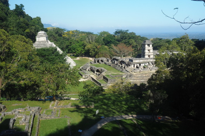 Mexican Road Trip - Stunning Palenque, viewed from the Temple of the Cross, Palenque, Chiapas, Mexico