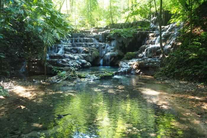 Mexican Road Trip - Queen's Bath, Palenque, Chiapas, Mexico