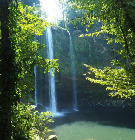 Mexican Road Trip - Misol-Ha Waterfall, Chiapas, Mexico