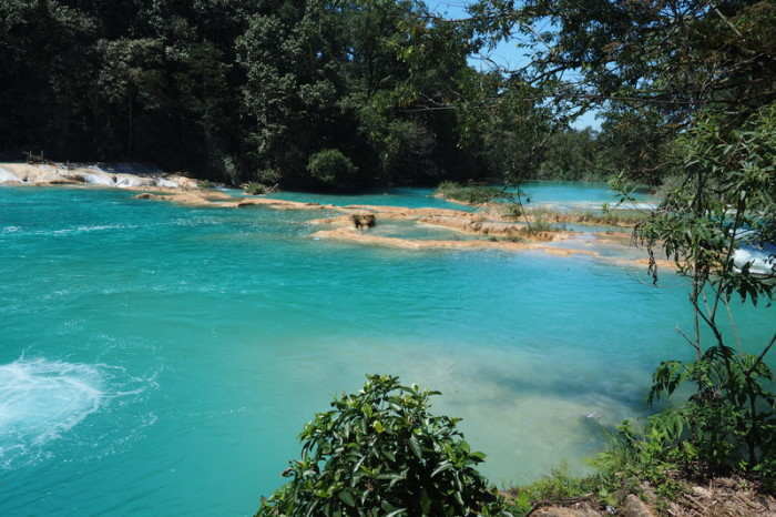 Mexican Road Trip - Agua Azul, Chiapas, Mexico