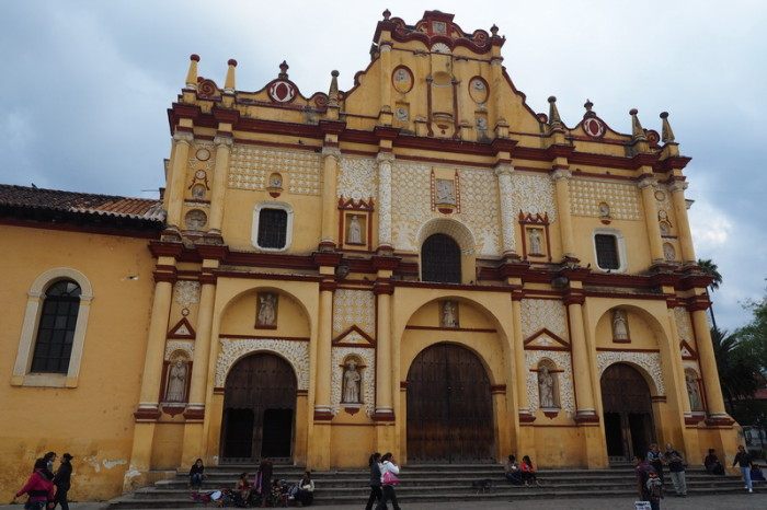 Mexican Road Trip - The Cathedral,  San Cristóbal de las Casas, Chiapas, Mexico