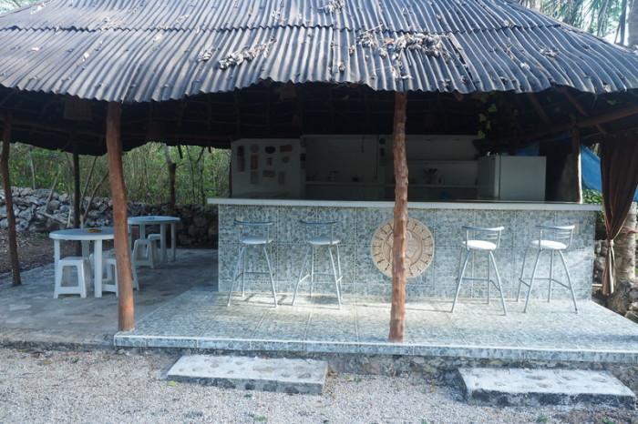 Mexican Road Trip - The well equipped kitchen at The Yucatan Mayan Retreat Eco-Hotel and Camping,  Yokdzonot, Yucatan, Mexico